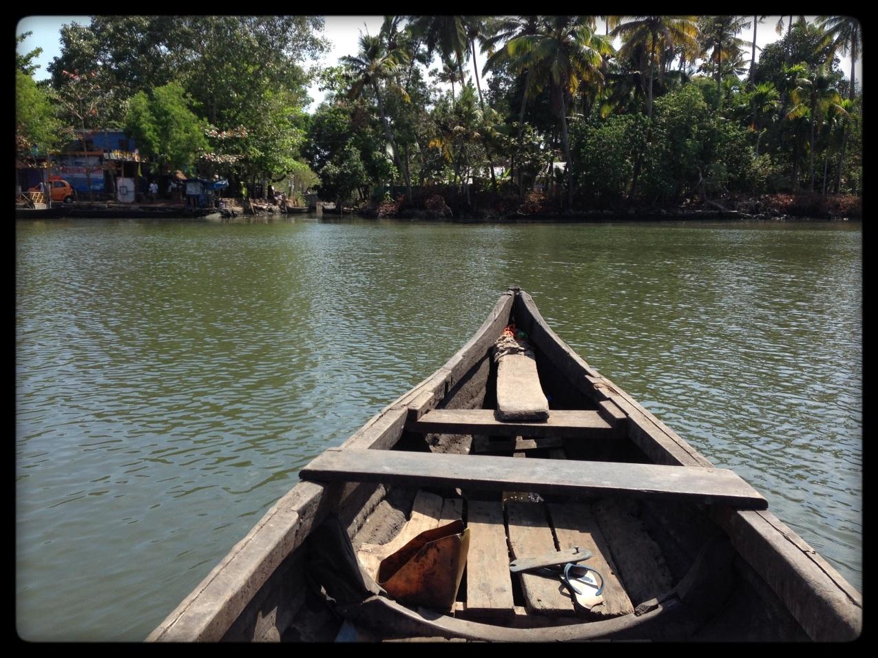 Pole Boat Backwaters