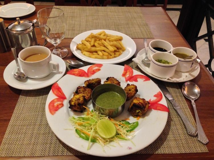 Fish Dinner in Trivandrum