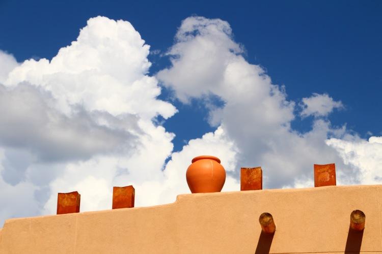 Pojoaque Pot and Sky