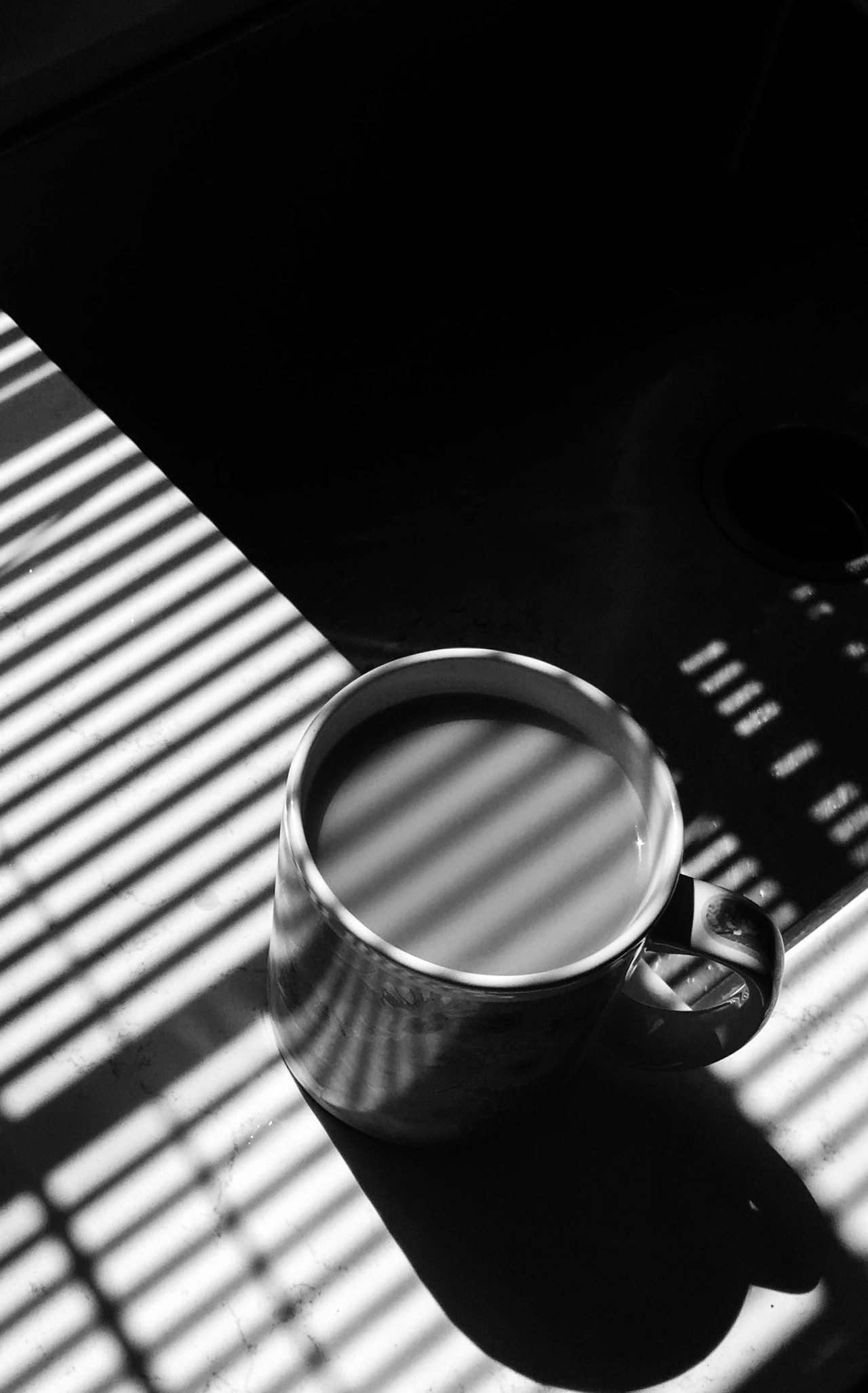 Morning Tea BW