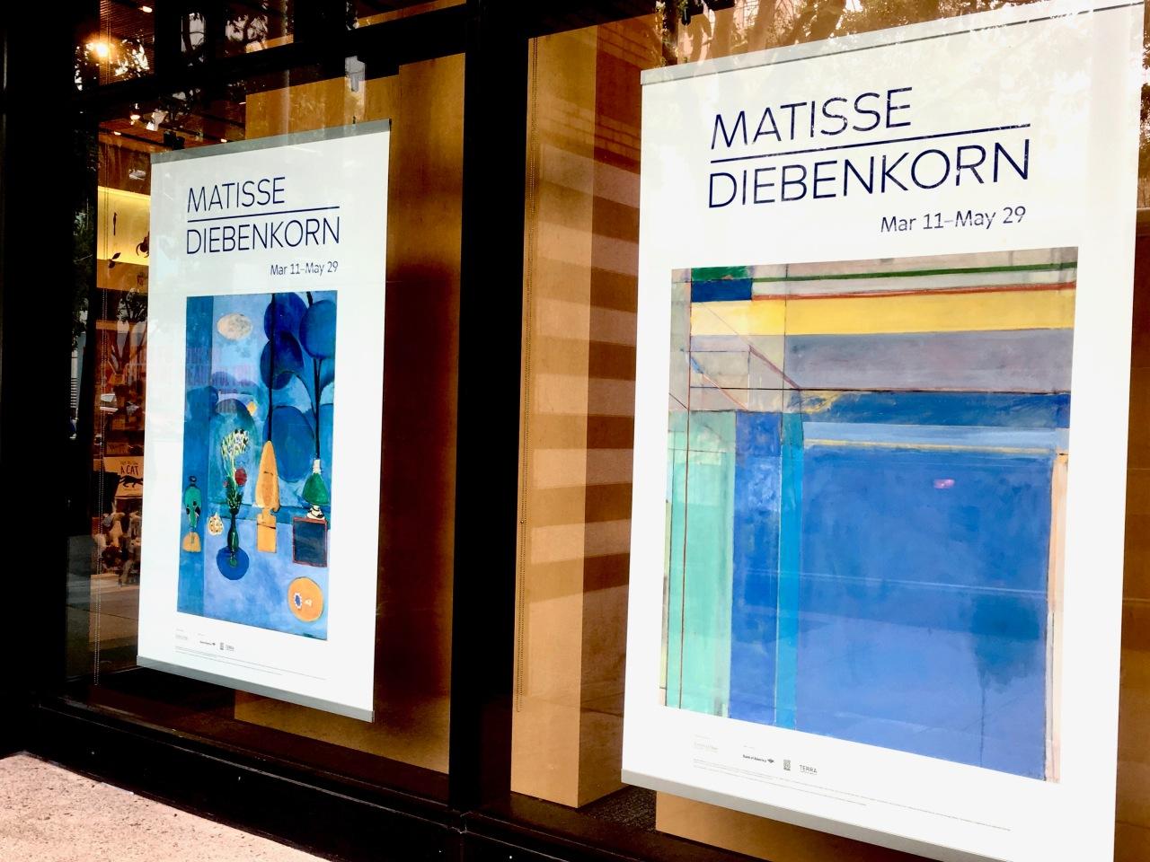 Matisse-Diebenkorn Posters