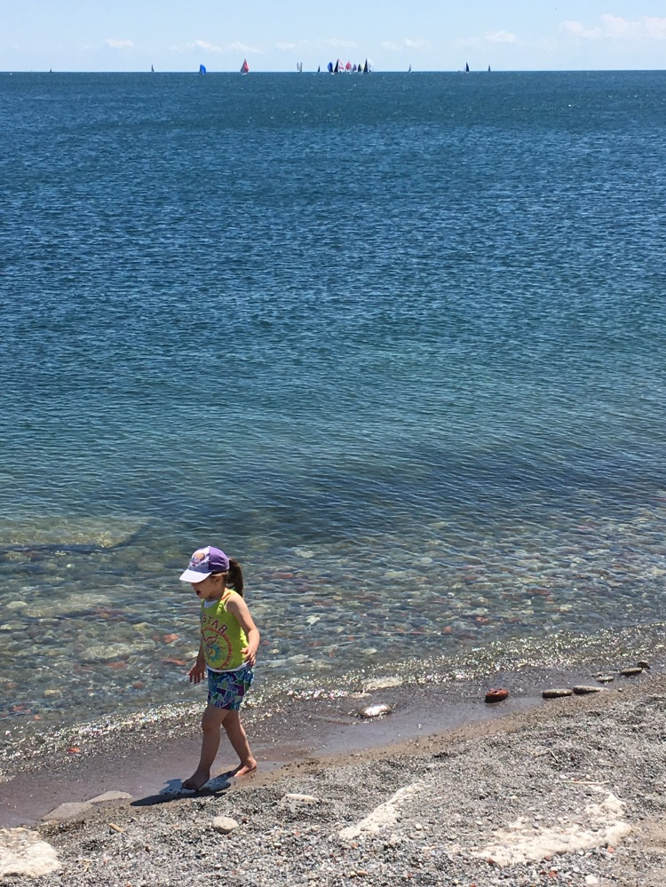 Girl-Lake Ontario