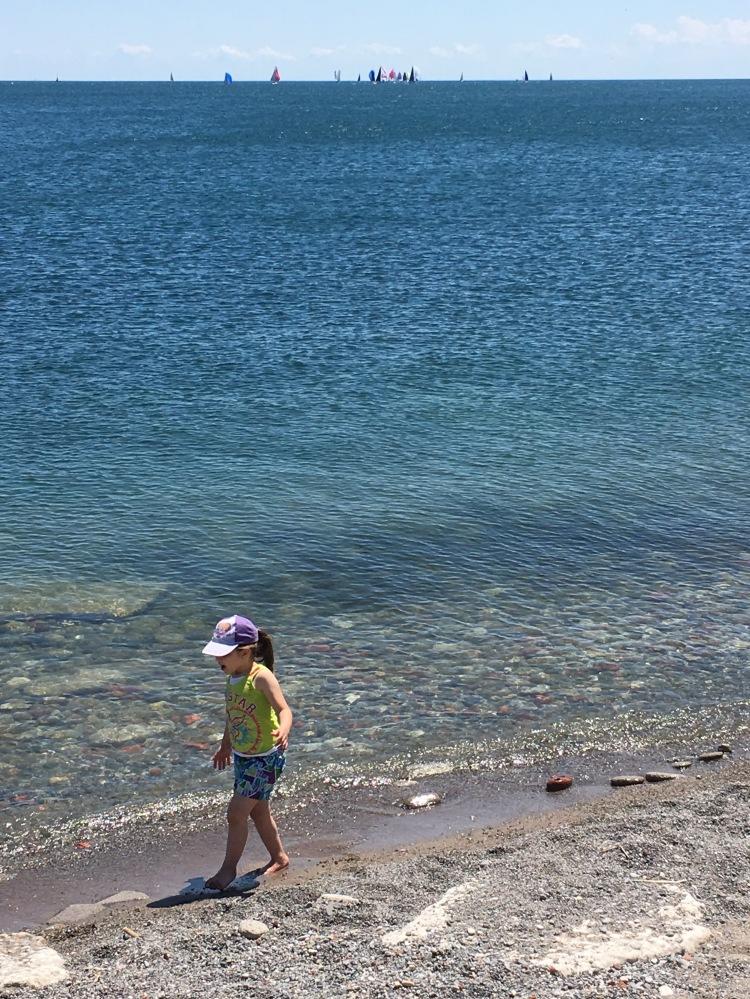 Girl-Lake Ontario