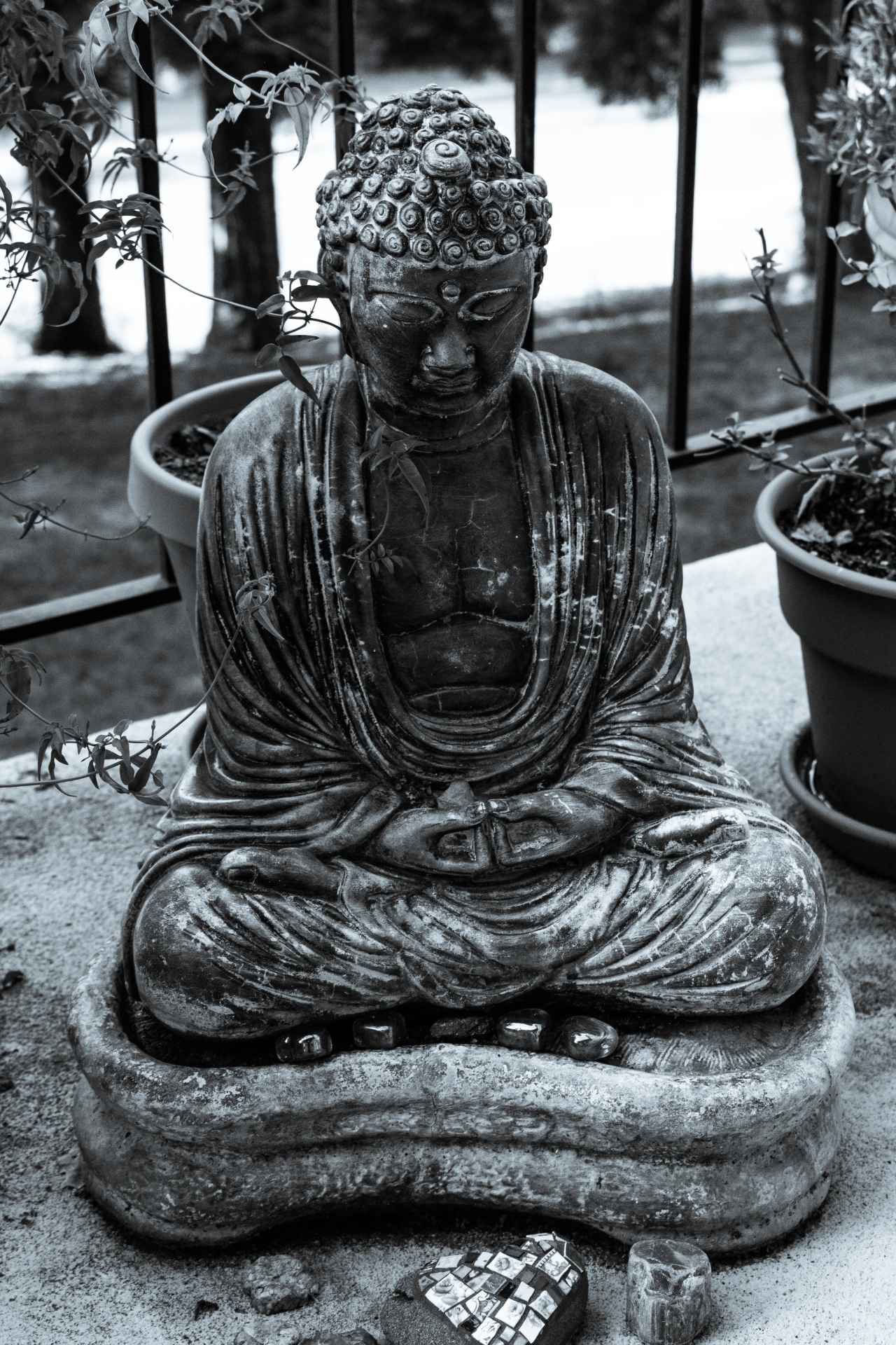 Weathered Buddha