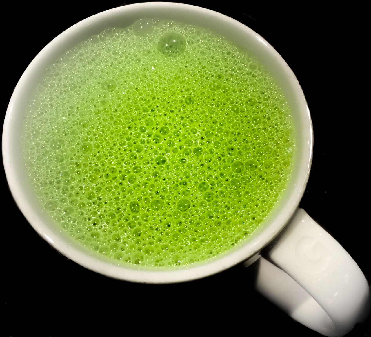 Matcha Green Tea Almond Latte-4786