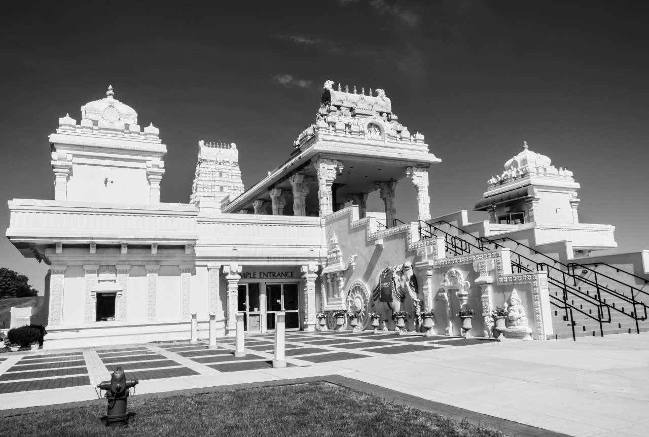 Hindu temple in the midwest
