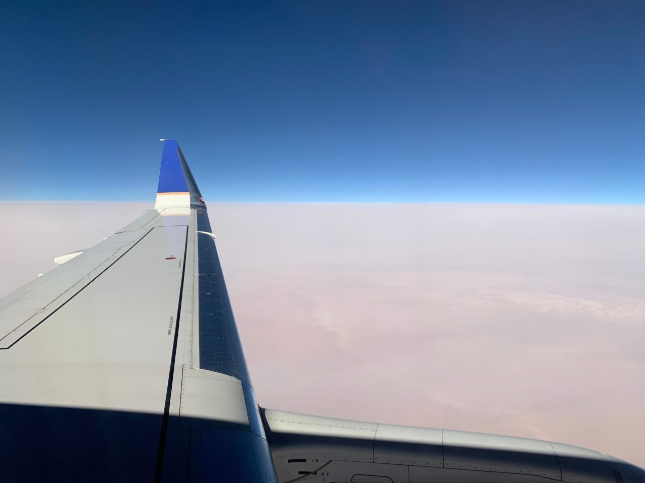 A smoke filledlandscape