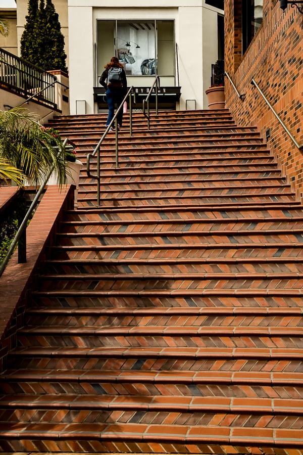 Brick stairs - SLO-3850