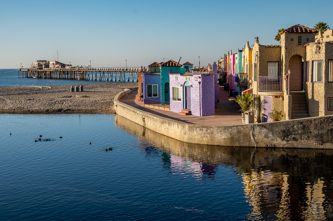 Early morning Capitola Venetian-
