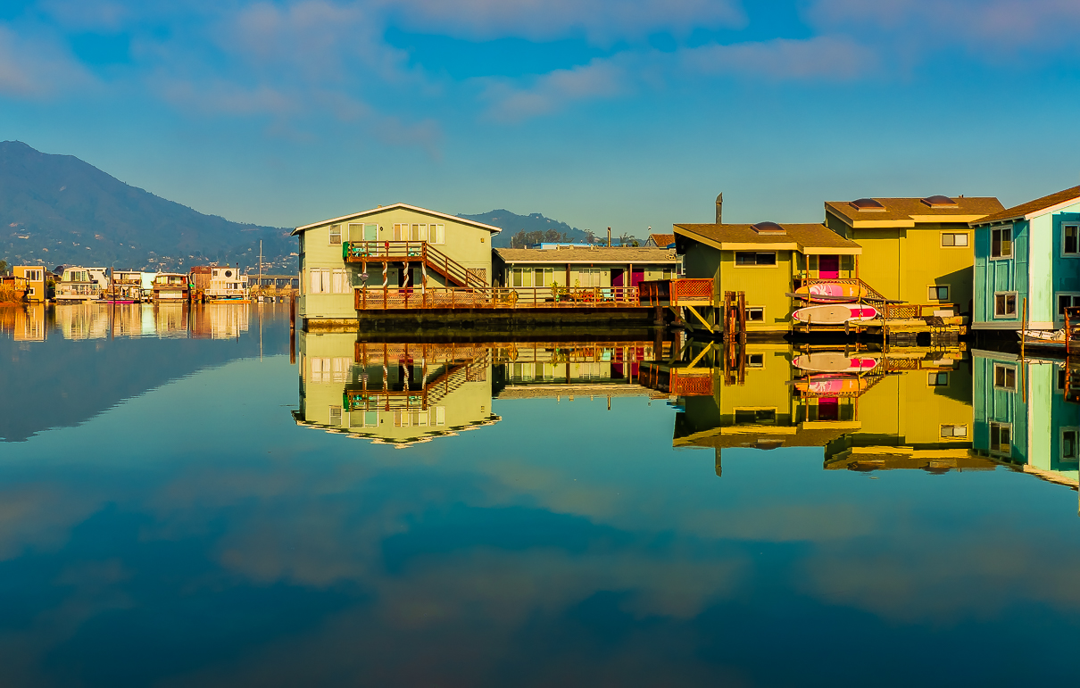 Sausalito floating houses 5485 HDR-