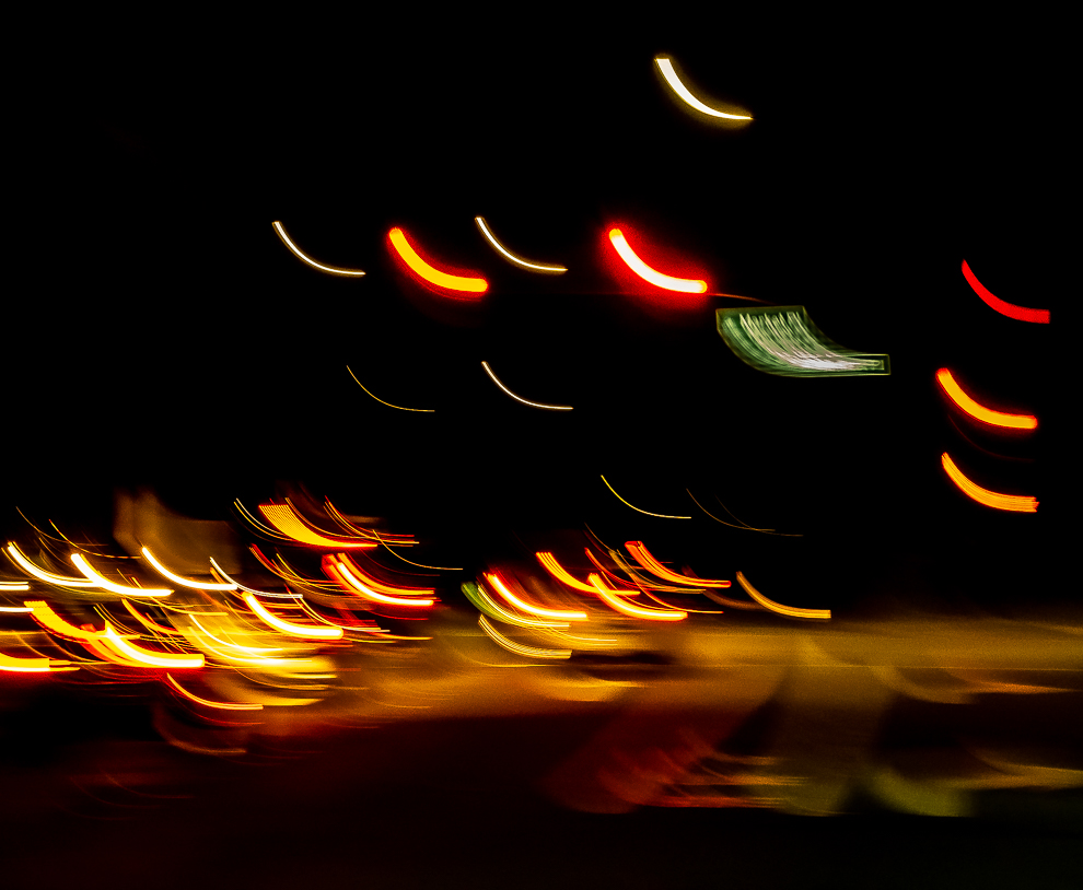 Street lights abstract-6390-2