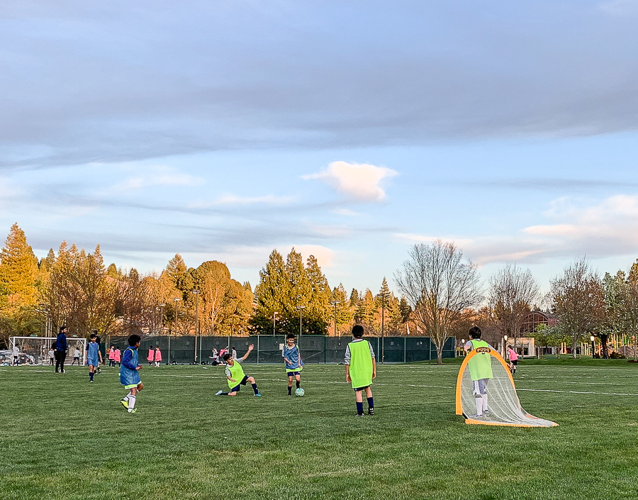 Soccer practice before and during Covid 19-8570