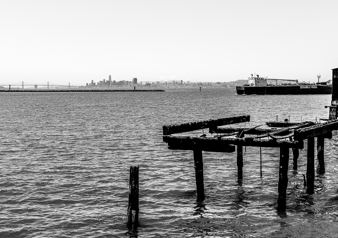 Monochrome Mondays: Point Richmond, California